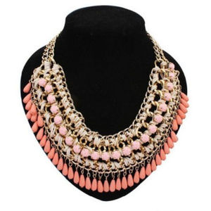 Beautiful Woven Statement Necklace
